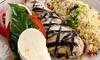 Cafe Zafferano - Mayfair/Jefferson Park: $16 for $30 Worth of Mediterranean Food at Cafe Zafferano