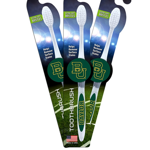 Virginia Tech Hokies Worthy Soft Bristle Toothbrush