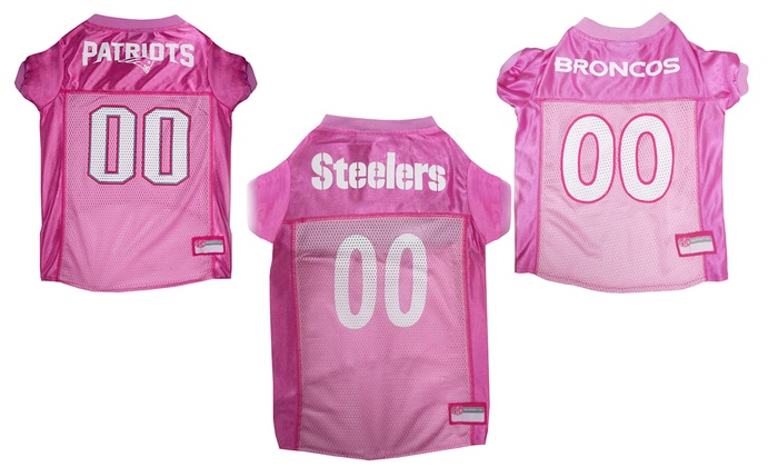 Up To 21% Off on NFL AFC Pink Pet Jerseys  581a12c17