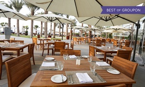 Gastro Kitchen at Double Tree by Hilton Hotel Dubai Jumeirah Beach: Early and Late Friday Brunch and Pool for Up to Four at Gastro Kitchen at Double Tree by Hilton Hotel Dubai (Up to 43%)