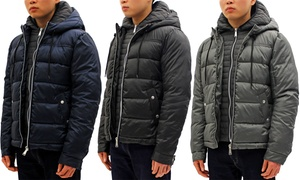 Men's Heavy-Weight Parka with Hood