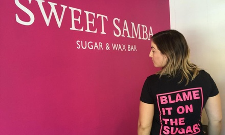 One or Two Full Brazilian Sugaring Hair Removal Treatments at Sweet Samba Buckhead (Up to 36% Off)