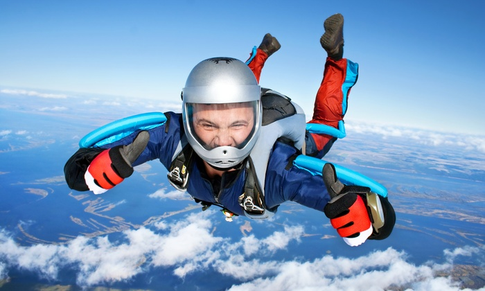 Skydive Owosso - About 30 mins from Lansing Michigan: Premier Tandem Skydive with Optional Video at Skydive Owosso (Up to 37% Off)