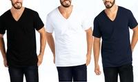 Men's Ultra Comfort V-Neck T-Shirt (3-Pack)