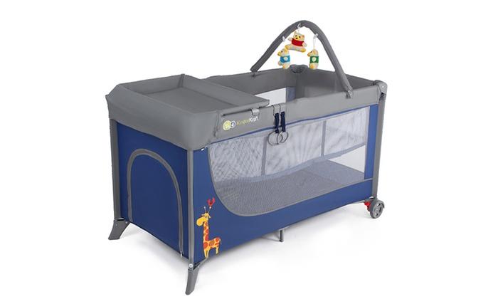 lit parapluie 3 en 1 kinderkraft groupon shopping. Black Bedroom Furniture Sets. Home Design Ideas