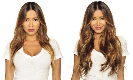 1 o 2 packs de 7 piezas de extensiones de cabello disponible en 15 estilos diferentes