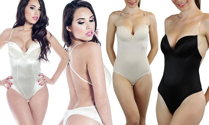 Women's Backless Bodysuit Shaper | Groupon Goods