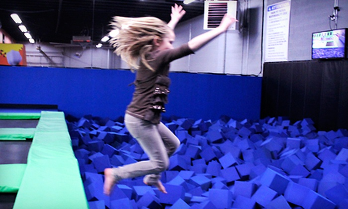 The Wairhouse Trampoline Park - South Salt Lake City: One-Hour Jump Pass for Two, Four, or Six at The Wairhouse Trampoline Park (Up to Half Off)