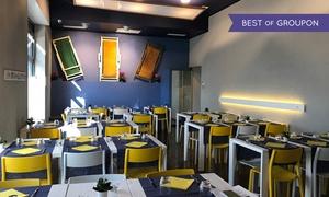 Ristorante Milos: Menu greco con moussaka, souvlaki e calice di vino per 2 o 4 persone al Ristorante Milos (sconto fino a 64%)
