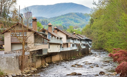 groupon daily deal - Stay at Rocky Waters Motor Inn in Gatlinburg, TN. Dates Available into May.
