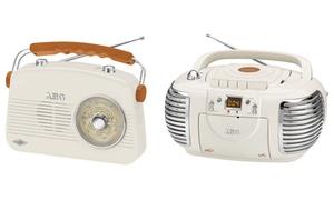 Radio rétro FM/AM -Lecteur CD/MP3