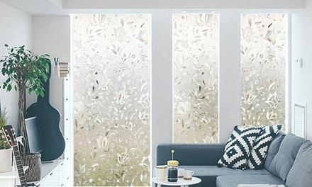 1 o 2 Pellicole vetri trasparenti privacy disponibile in 2 fantasie