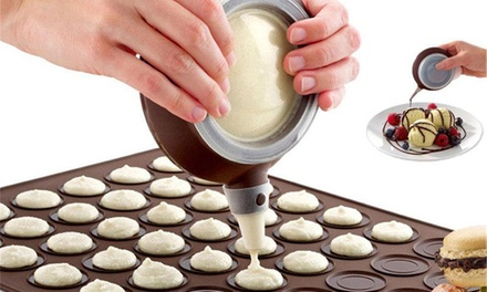 From $12 for Non-Stick Silicone Macaron Baking Mould Accessories