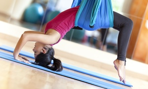 Bindi Yoga: 10 Yoga Classes or 5 Aerial Yoga Classes at Bindi Yoga (Up to 65% Off)