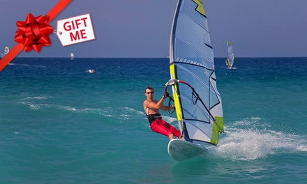 Windsurfing Lesson for Two ($45), Three ($58) or Four People ($74) with Madloop Windsurf School (Up to $160 Value)