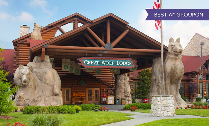 Stay with Water Park Passes, Breakfast, and Gift Credit at Great Wolf Lodge Williamsburg in Virginia. Dates into April.