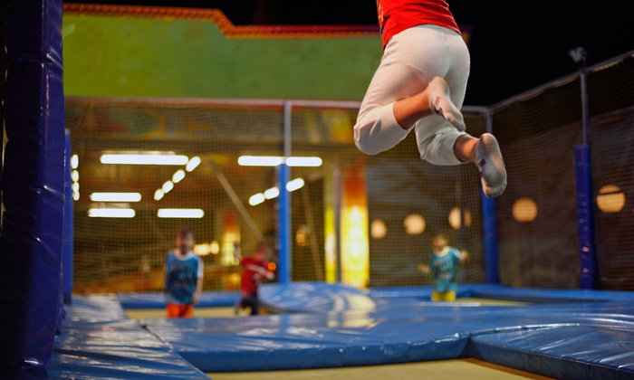 BOING! Jump Center/Arcade - Tampa: Trampolining or Birthday Party at BOING! Jump Center Tampa (Up to 49% Off)