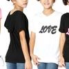 Girls' Short Sleeve Love Hoodie