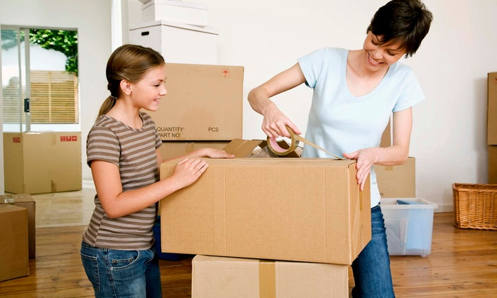 You Move We'll Clean Up - Chicago: $299 for Four Hours of Moving Help with Truck from You Move We'll Clean Up ($545 Value)