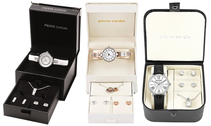 58ecfbabb Pierre Cardin Jewellery Set | Groupon Goods
