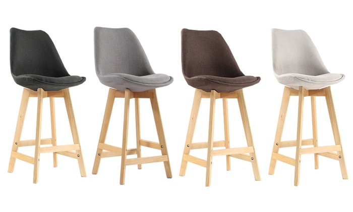 Tabourets de bar scandinaves TISSU | Groupon
