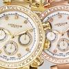 Akribos XXIV Women's Multifunction Link Bracelet Watch