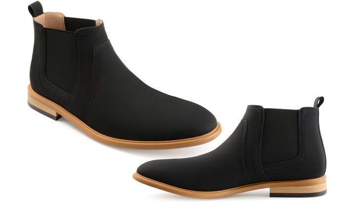 exquisite craftsmanship classic enjoy discount price Up To 23% Off on Vance Co. Men's Chelsea Boots | Groupon Goods