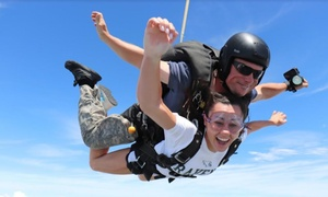 $81 Off Tandem Skydive at Triangle Skydiving Center at Triangle Skydiving Center, plus 6.0% Cash Back from Ebates.