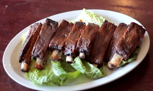 Memphis Joe's Barbecue: $12 for $20 Worth of Dinner for Two or More at Memphis Joe's Barbecue