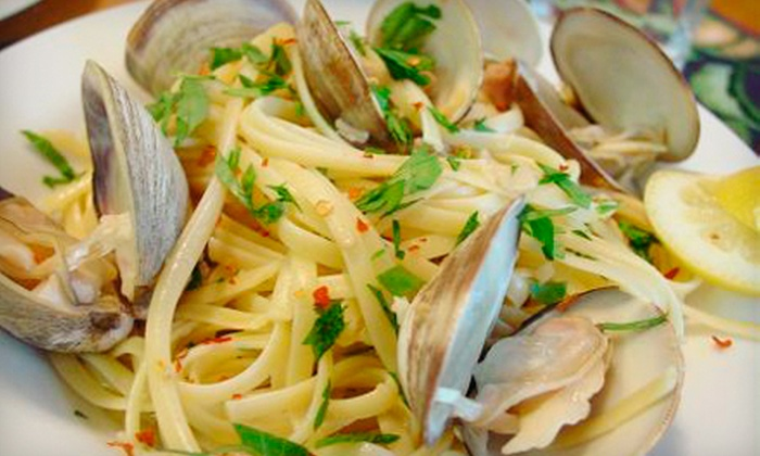 Bella Monte - Northeast Virginia Beach: Italian and Mediterranean Cuisine at Bella Monte (Half Off). Two Options Available.