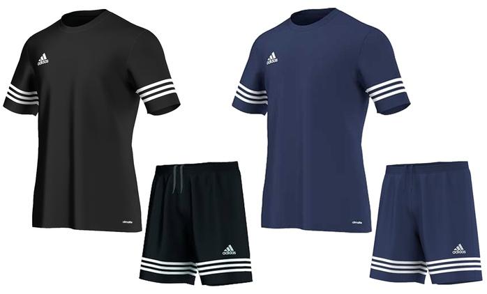 T shirt e pantaloncino Adidas Climalite disponibile in 2 colori a con spedizione gratuita a 29,99 € (40% di sconto)