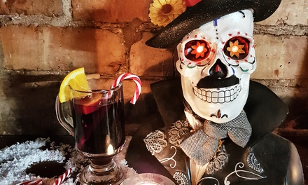 Burritos and Drink for Two or Four at Evil Eye Bar