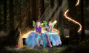 Glamour Shots: Kids' Fairy Tale Photo Shoot with Digital Image and Optional Print Package at Glamour Shots (87% Off)