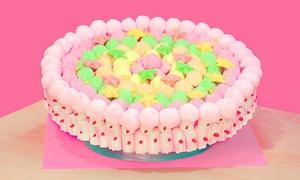 Betty Cake: Torta di caramelle e marshmallow personalizzabile a uno o 2 piani da Betty Cake in zona Bocconi (sconto fino a 66%)