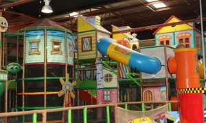 Laughalots Playland: From $8 for an Entry for One Adult and Up to Four Children to Laughalots Playland (from $16.80 Value)