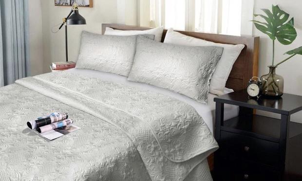 Up To 60 Off Ultrasonic Comforter Set Groupon