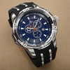 Men's Joshua & Sons JS50 Chronograph Silicone Strap Watch