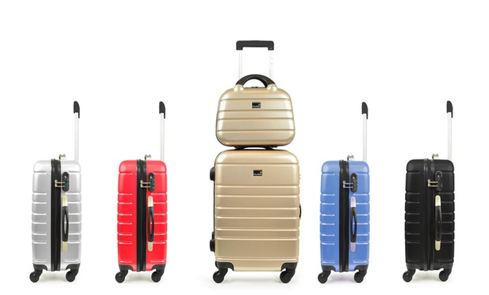 2-teiliges Koffer-Set Manhattan in der Farbe nach Wahl (54% sparen*)