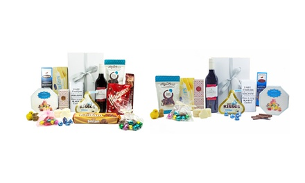 for an Easter Hamper Pack Including Wine, Chocolates, and Savoury Goodies Don't Pay up to $120