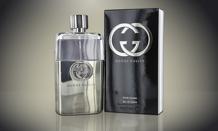 $56.99 for Gucci Guilty Eau De Toilette Spray for Men; 3 Fl. Oz. ($80 List  Price). Free Shipping.