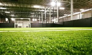 MF Soccer Arena: 1 uur huur indoor voetbalveld bij MF Soccer Arena
