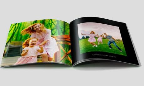 Fotolibro con tapa blandade 20, 40 ó 60 páginas con Printerpix (hasta 89% de descuento)
