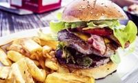 Hamburger naar keuze met handgesneden frietjes en sausje vanaf € 6,99