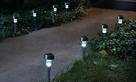 Lampade solari da giardino groupon goods - Lampade giardino solari ...