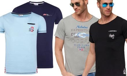 T-shirts homme Nebulus 100% coton, modèle et coloris au choix à 14,90 €