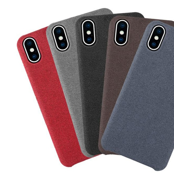 low priced 55a44 1aca2 Waloo Slim Fabric Case For iPhone XS, XR, or XS Max