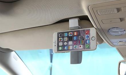 Soporte de smartphone universal giratorio 360º para visera y rejilla