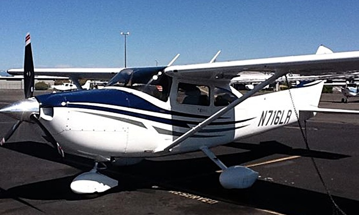 Fly with Mark - Kearny Mesa: $199 for 2-Hour Introductory Flight Lesson for 1 Student and 2 Passengers from Fly with Mark (Up to $399 Value)