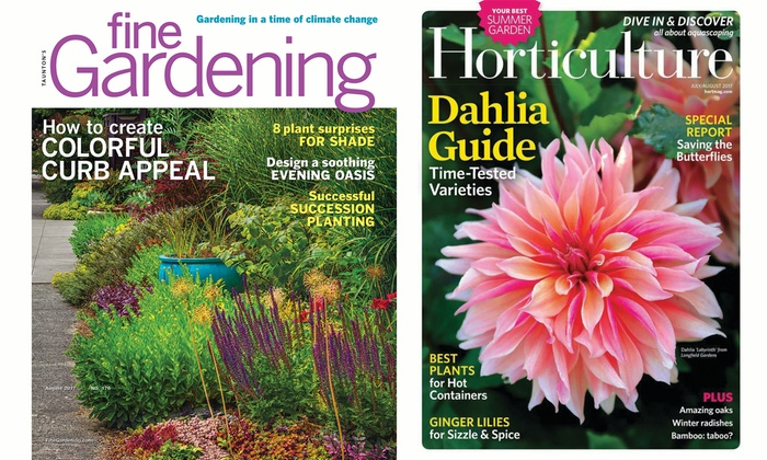 Exceptionnel Fine Gardening And Horticulture Magazines