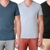 Men's Short Sleeve V-Neck Shirts